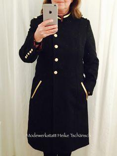 MODEWERKSTATT HT: Mantel im Militarystyle