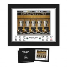 Personalised Newcastle United Dressing Room Folder