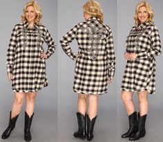 rochie masura mare pepit Curvy Fashion, Fashion Women, 50th, Plus Size, Elegant, Casual, Sweaters, Dresses, Women's Work Fashion