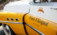 Champagne cabs to uncork in Belgium. Veuve Clicquot is offering a chance to drink and drive with responsibility and refinement.