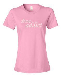 Shoe Addict - Women's t-shirt