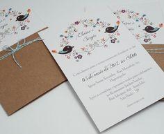AboutLove - Convite de Casamento Alegria