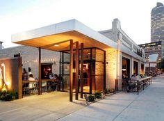 restaurant exterior design | East Entry Building Exterior Design ...