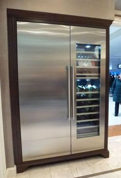 Thermador dual temperature and humidity control wine for Abt appliances