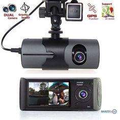 "2017 New Dash Camera 2.7"" Vehicle Car DVR Camera Video Recorder Dash Cam G-Sensor GPS Dual Len Camera  #wine #barzznet #mancave #weekend #beer #bartender #beach #cocktail #barrescue #barzz @barzz"