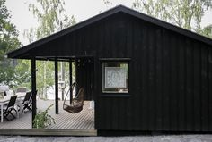 Forest Design, Beautiful Buildings, Black House, Wilderness, Studio, Living Spaces, Shed, Cottage, Outdoor Structures