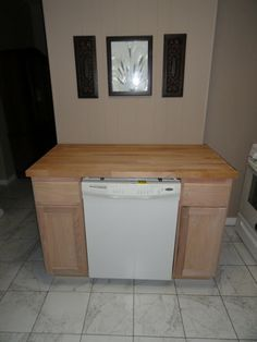 The Precious Little Things in Life: DIY Dishwasher Cabinet