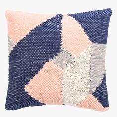 Mira Pink Sands Woven Pillow
