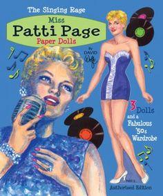 Patti Page Paper Dolls