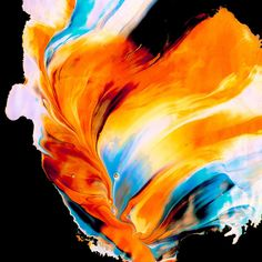 Amazing Abstract Paintings by Jim LePage | Inspiration Grid | Design Inspiration