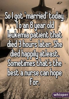 Whisper App. Confessions from hospital nurses.