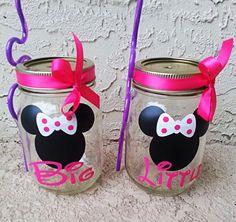 cute & crafty: how to paint a sorority/preppy mason jar!
