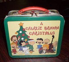 Amazon.com: Hallmark SCHOOL DAYS LUNCH BOX Peanuts CHARLIE BROWN CHRISTMAS: Toys & Games