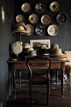 hats, ceramics