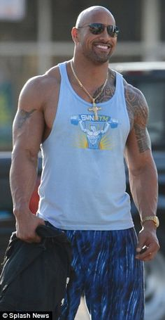Dwayne (The Rock) Johnson | On the Set of Pain and Gain
