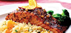 Sandra Lee Orange Balsamic Glazed Salmon - Orange Balsamic Glazed Salmon