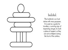 What inukshuk means and looks like