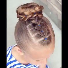 Bellísimo  #hair #tutorialfemenino by @brownhairedbliss