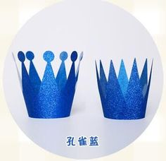 New 6Pcs Birthday Party Cap Hat for Spots Decoration Birthday Celebration Party Decor Kids Children Birthday Crown Supplies