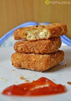 nugget Jamur Keju