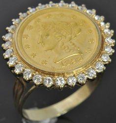 14k Diamond Panda Coin Ring #jewelry #rings  Panda Coin. Eva Wedding Rings. Prince Rings. Brass Rings. Gymnastic Rings. Purple Heart Rings. Birthstone Accent Engagement Rings. 0.03 Carat Engagement Rings. Green Tourmaline Engagement Rings