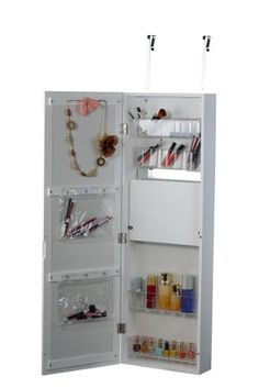 Superb Over The Door Beauty Armoire With Full Length Mirror: Amazon.ca