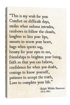 My Wish For You by Debbra Obertanec Great Quotes, Quotes To Live By, Me Quotes, Inspirational Quotes, Motivational Quotes, My Wish For You, I Wish, Wishes For You, Be Yourself Quotes