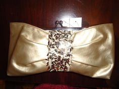 NWT Fashion Golden handbag wallet very cute