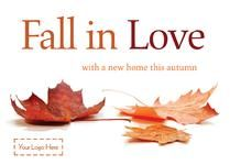 E0514 - Fall in love! Browse through hundreds of Letting Agent design templates! by @estateagentleaflets  #estateagentleaflets #autumn #designs #2016  Visit our website for more information!