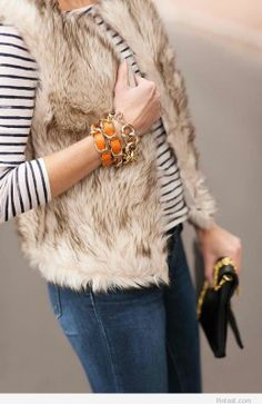 Fur vest – We need it