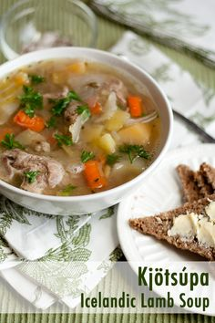 Icelandic lamb soup. This I am going to do it for lunches at work. Me and Vital enjoyed at the cafeteria near Gulfoss waterfalls in Iceland, and it was soooo good. The right food for the right country and the right weather.