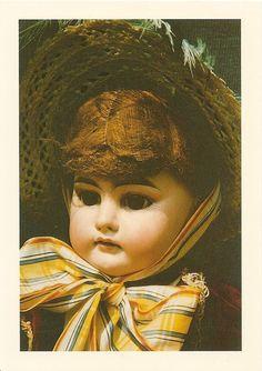 Postkarte Lederbalg - Puppe - Neustadt bei Coburg -Trachtenpuppen - Museum - neu | eBay