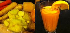 In the Reboot Kitchen: Roots & Fruits Juice