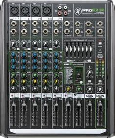 Mackie Pro FX8 Professional Mic/ line mixer with effects
