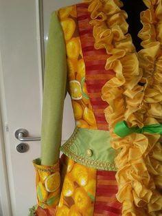 carnavalsjas zelf maken - Google zoeken Bunt, Costumes, Costume Ideas, Summer Dresses, Outfits, Theater, Halloween, Google, Jackets