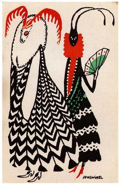 Postcards of the Wiener Werkstätte by Ludwig Heinrich Jungnickel, postcard 380