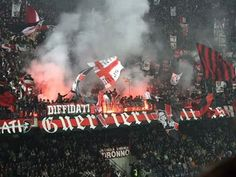 San Siro, home of A.C. Milan    Milan's winning percentage: 763 (12 wins, 5 draws, 2 losses)    Capacity: 80,180
