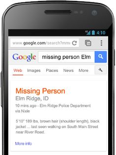 Google Partners With Nixle To Deliver Local Emergency Alerts & Response Information http://selnd.com/14EiZ7g