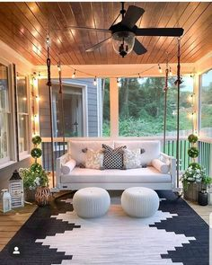30 Gorgeous And Inviting Farmhouse Style Porch Decorating Ideas - - Tis the season of summer days and outdoor spaces to enjoy them, so check out our fab collection of farmhouse style ideas for your porch. Home Design, Design Ideas, Design Blogs, Design Inspiration, Design Basics, Design Concepts, Garden Inspiration, Design Design, Design Trends
