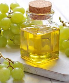 15 Natural Ways to Get Long and Shiny Hair -Grape seed oil