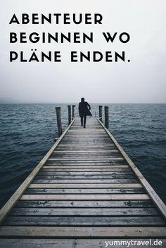 Reise Sprüche und Reise Zitate für jede Gelegenheit.