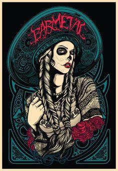 As ilustrações tatuadas de Deni Dessastra | MADMAG
