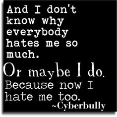 Cyber Bullying Quotes Delectable Quotes About Bullying Tumblr  Tumblr_M83V2Dagcb1Rnvyino1_500