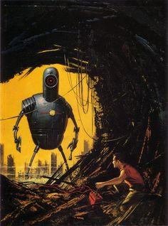 Ed Valigursky art. I miss analog robots.