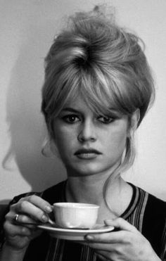 Brigitte Bardot With Her Signature Hair.