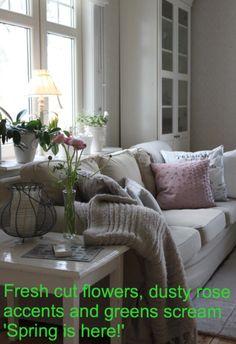 Sand Beige Ektorp sofas from Anna of Sweden - post Christmas. www.bemz.com