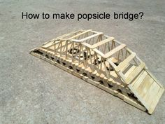 SAKO Popsicle Bridge