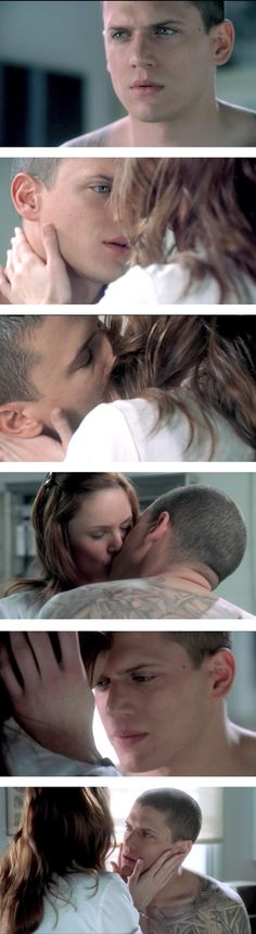 Scofield & Tancredi... almost cried when this happened...