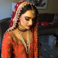 Congrats Naurine Shah on your beautiful wedding!!!!❤️❤️Stunning dress by Mrs Kazmi!!! Hair Makeup and Dupatta by Nida Gazi @beautybyng #hair #makeup #desi #pakistani #bride #bridal #beautybyng #lashesbyng #lashes #love #makeupartist #makeupforever #mua #instawedding #instaglam #anastasiabeverlyhills @desibeautyblog @pakistanstyleonset @beautybyng