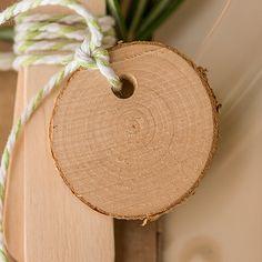 Rustic Miniature Natural Birch Wood Circle Slices Rustic Wedding Favors #RusticWeddingInspiration #RusticWeddingIdeas